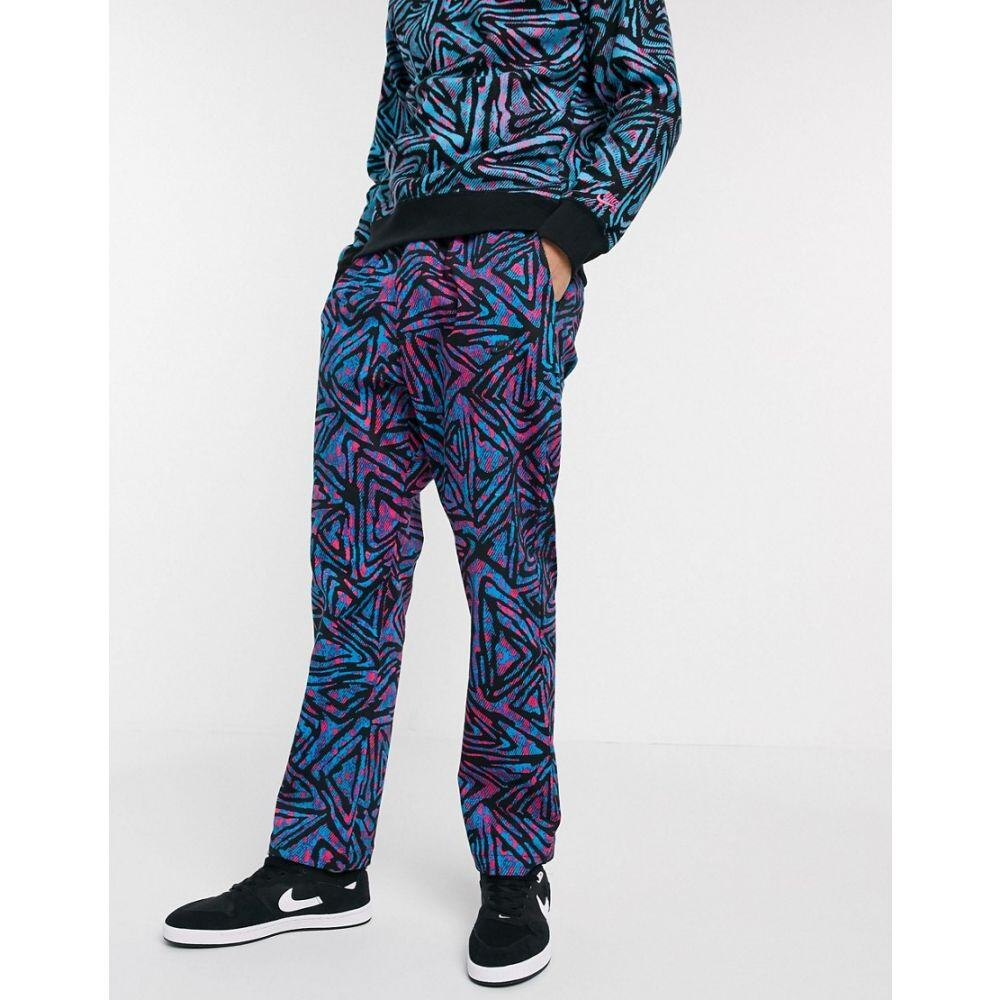 ナイキ Nike SB メンズ チノパン ボトムス・パンツ【all over print chino in blue】Blue