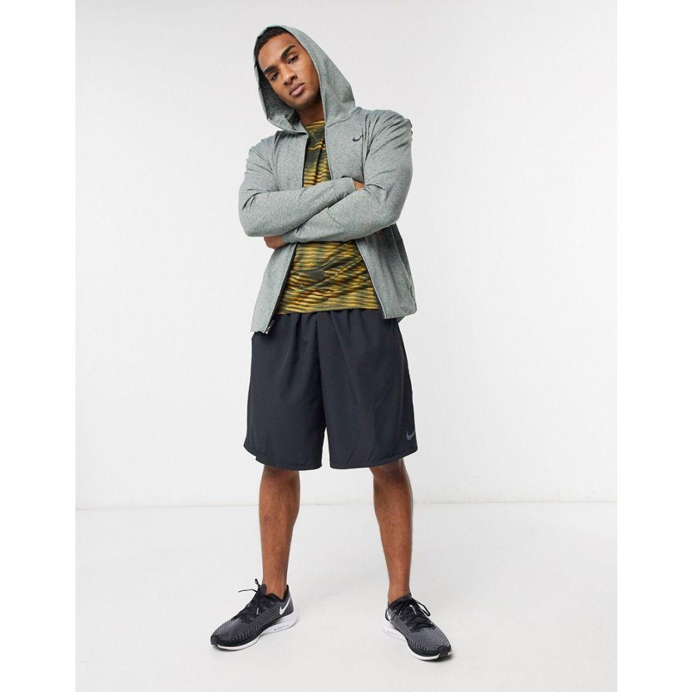 ナイキ Nike Training メンズ ヨガ・ピラティス パーカー トップス【Nike Yoga hoodie in khaki】Green