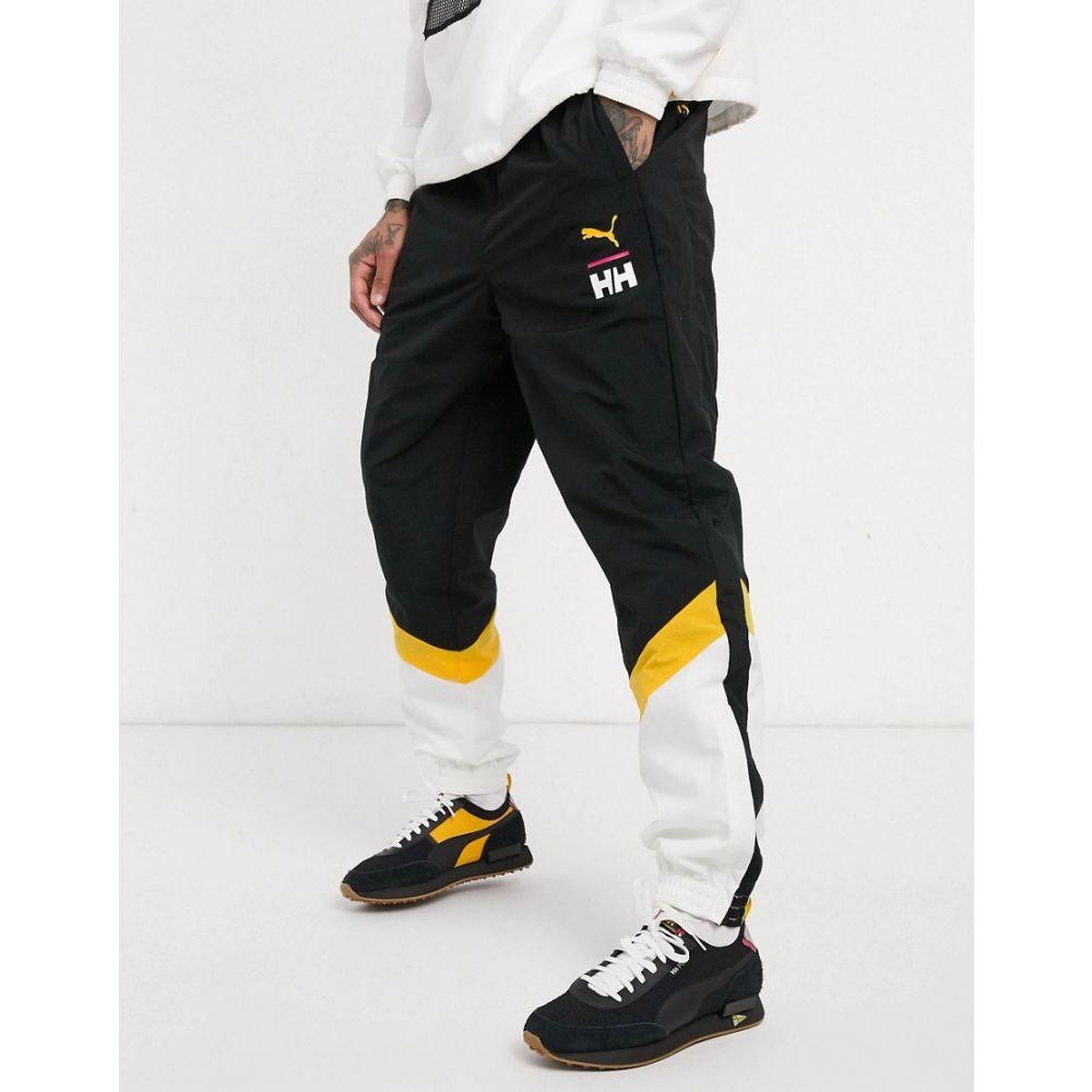 プーマ Puma メンズ ジョガーパンツ ボトムス・パンツ【x Helly Hansen joggers black】Citrus