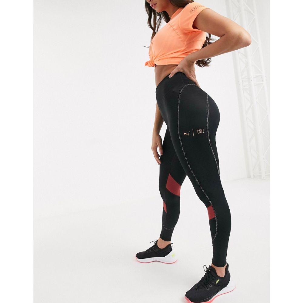 プーマ Puma レディース スパッツ・レギンス インナー・下着【First Mile leggings in black】Black