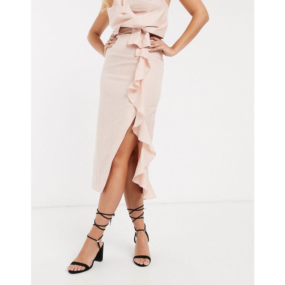 コレクティブザラベル Collective The Label レディース スカート 【ruffle skirt co-ord in pink】Pink