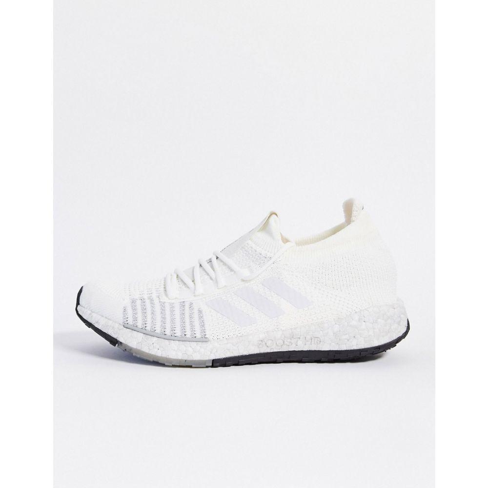 アディダス adidas performance メンズ スニーカー シューズ・靴【Adidas Running Pulseboost Trainers In White】White