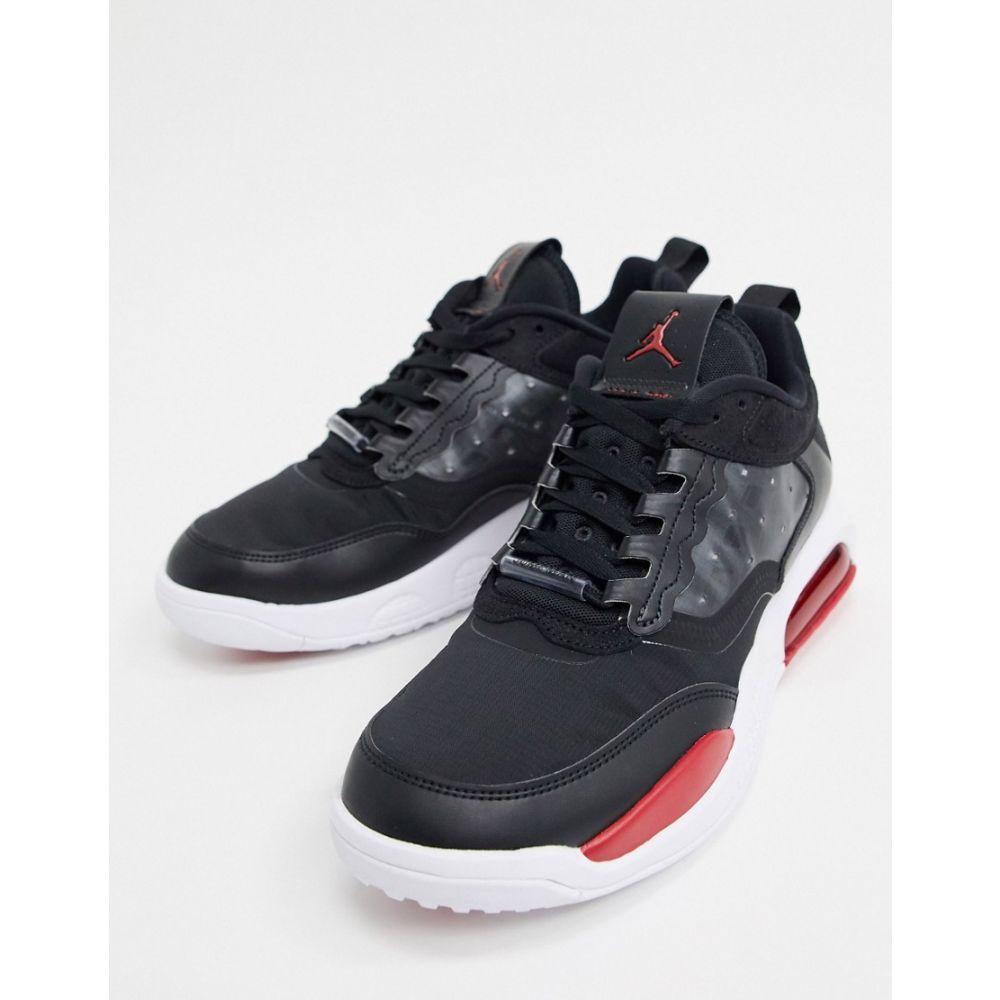 ナイキ ジョーダン Jordan メンズ スニーカー シューズ・靴【Nike Air Max 200 Trainers In Black/Red】Black/red