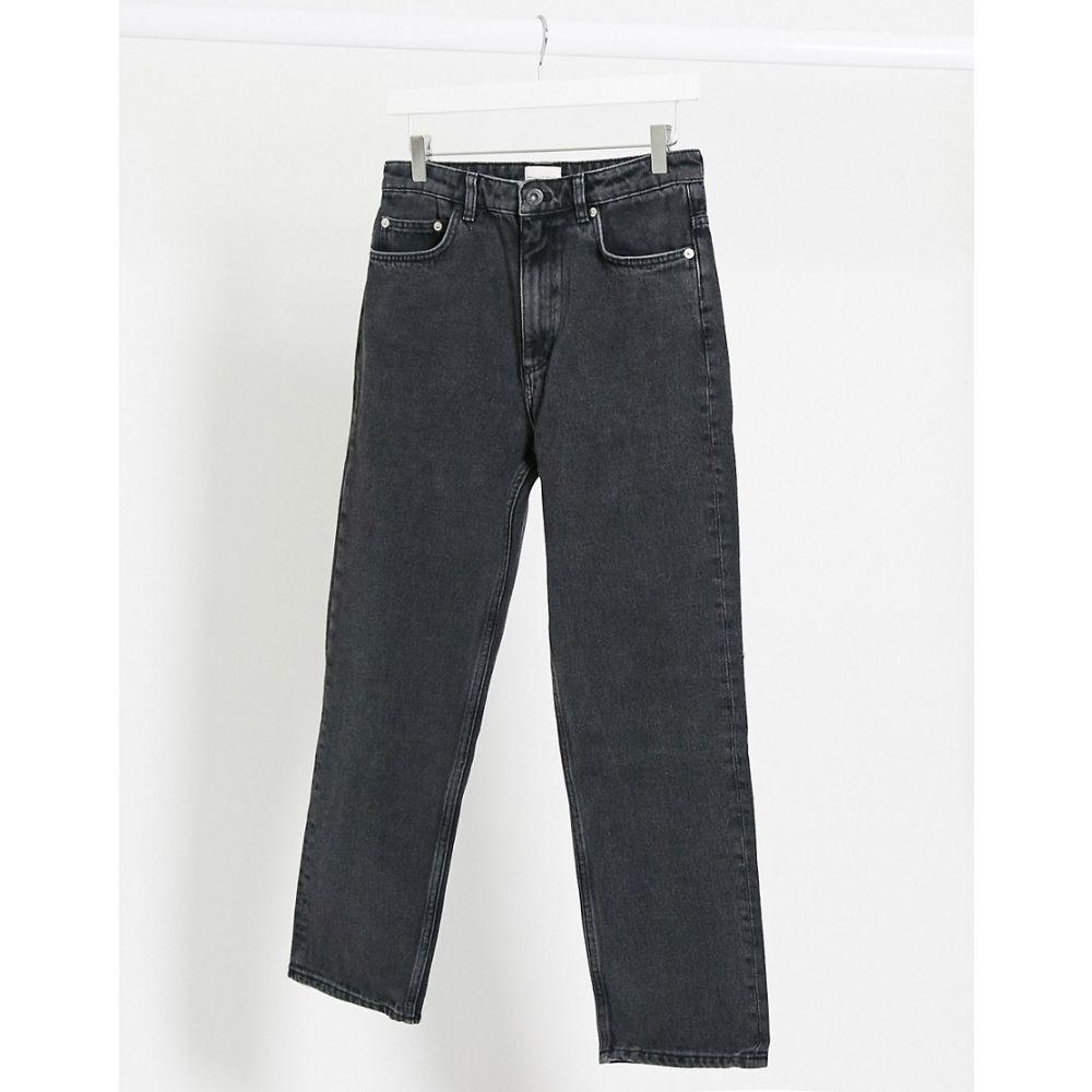 フレンチコネクション French Connection レディース ジーンズ・デニム ボトムス・パンツ【Lillian Ankle Grazer Straight Jeans In Black】Washed black