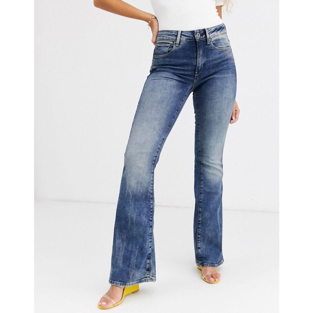 ジースター ロゥ G-Star レディース ジーンズ・デニム ボトムス・パンツ【3301 High Waist Flare Jean】Medium aged