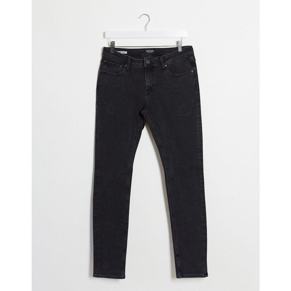 ジャック アンド ジョーンズ Jack & Jones メンズ ジーンズ・デニム ボトムス・パンツ【Intelligence Liam Skinny Sustainable Jeans In Black】Black