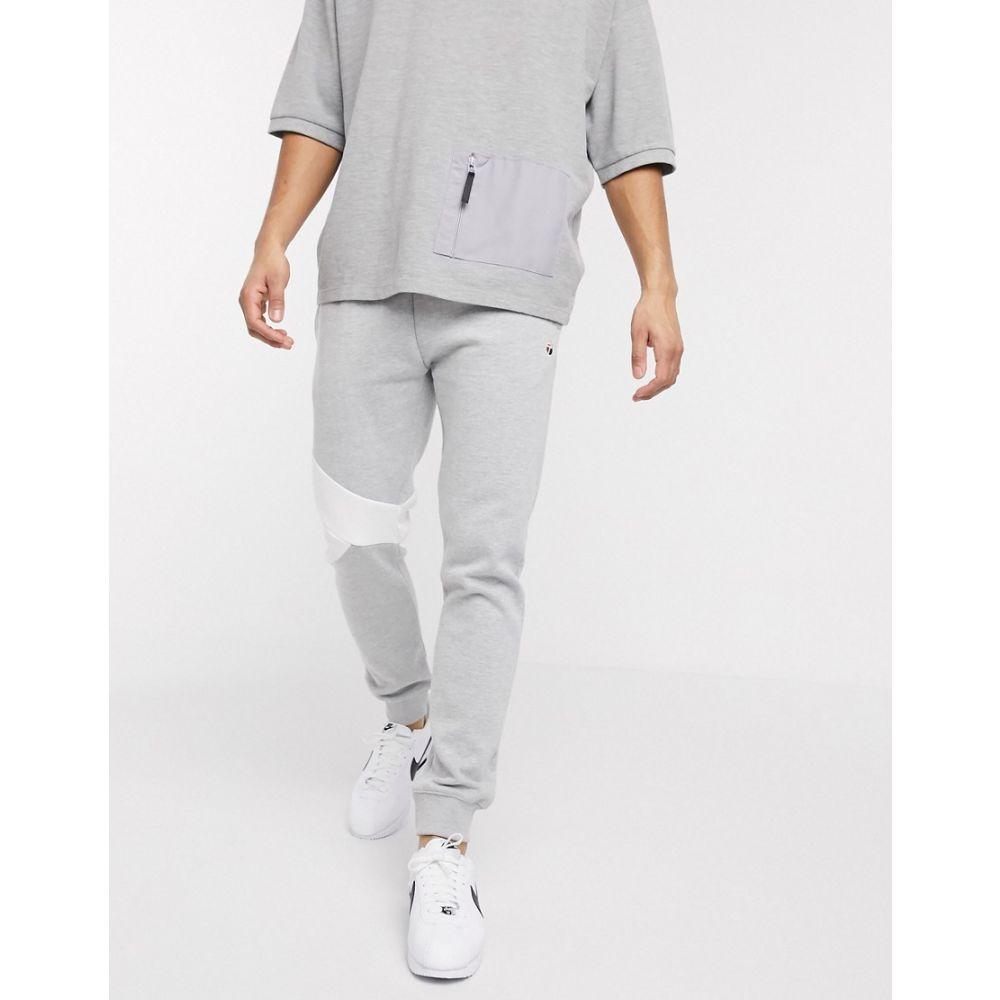 トップマン Topman メンズ ジョガーパンツ ボトムス・パンツ【Cut And Sew Joggers In Grey Marl】Grey