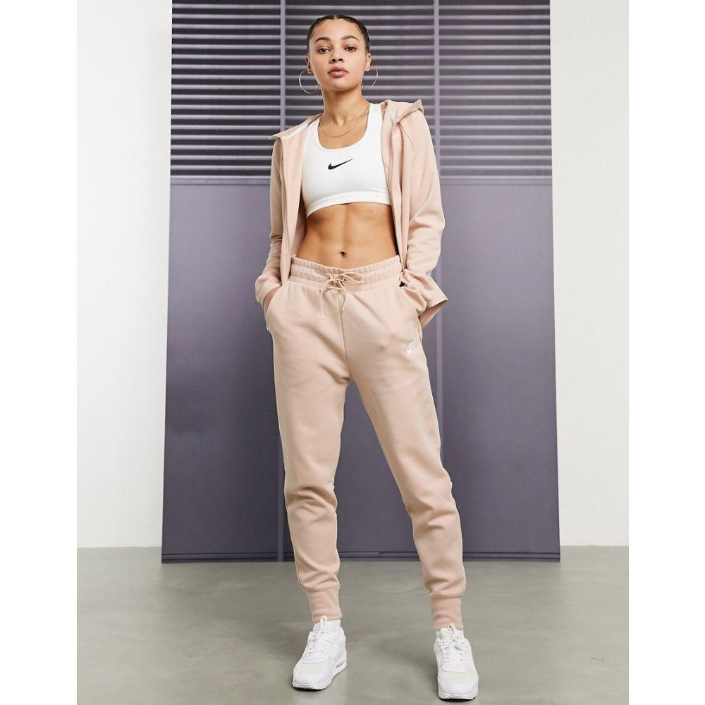 ナイキ Nike レディース ジョガーパンツ ボトムス・パンツ【Tech Fleece Beige Joggers】Shimmer
