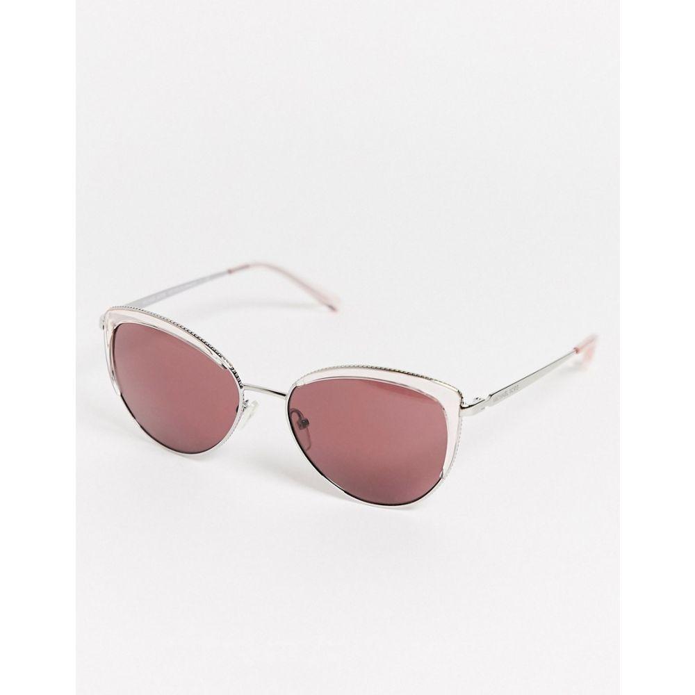 マイケル コース Michael Kors レディース メガネ・サングラス 【Mk1046 Cat Eye Sunglasses】Brown
