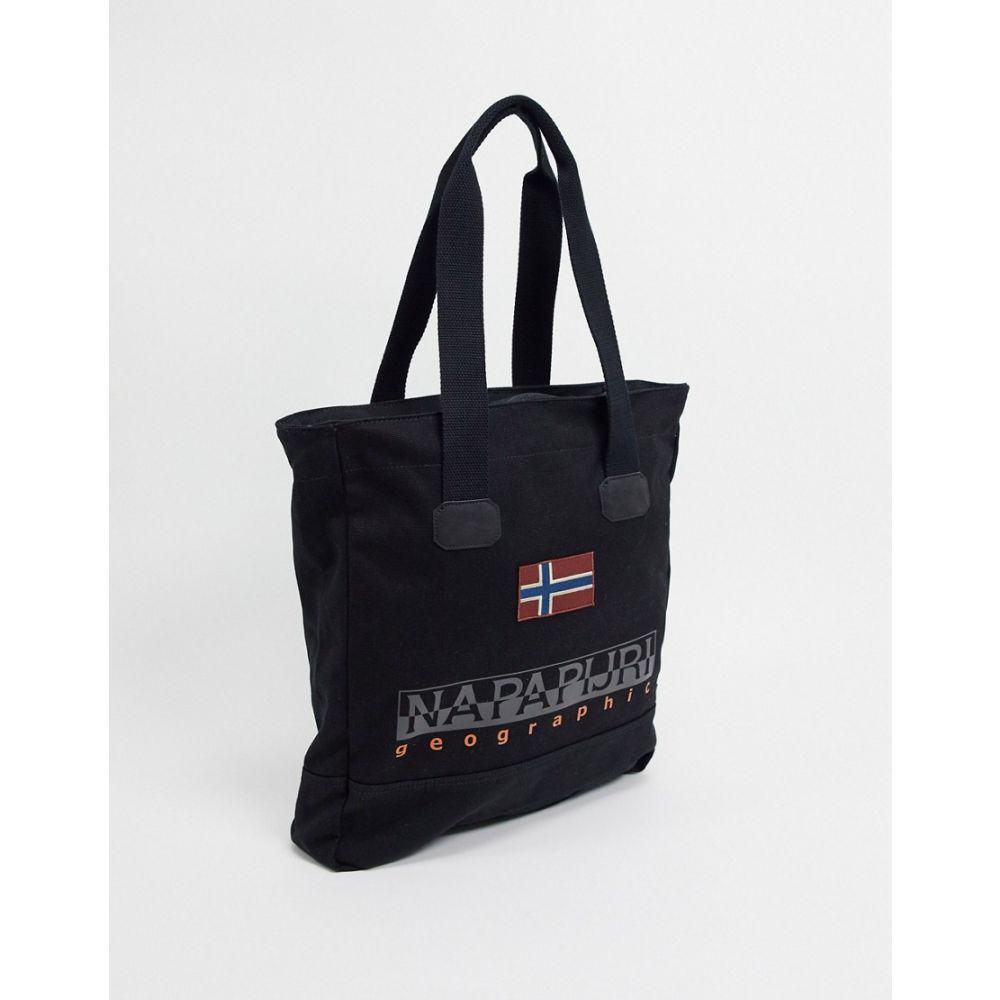 ナパピリ Napapijri メンズ トートバッグ バッグ【Sporta Tote Bag In Black】Black