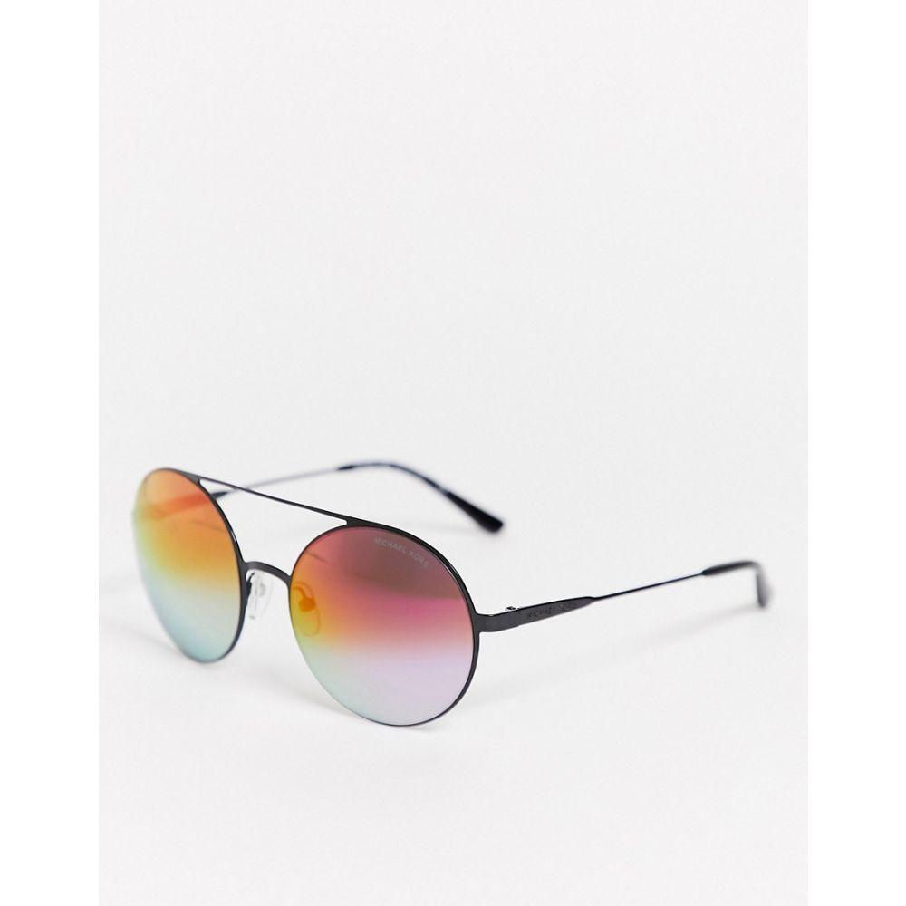 マイケル コース Michael Kors レディース メガネ・サングラス ラウンド【0Mk1027 Round Lens Sunglasses】Black