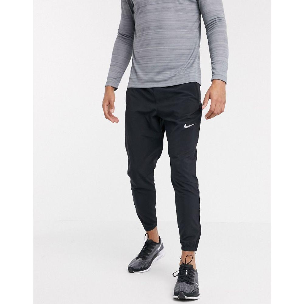 ナイキ Nike Running メンズ ジョガーパンツ ボトムス・パンツ【Essential Woven Joggers In Black】Black