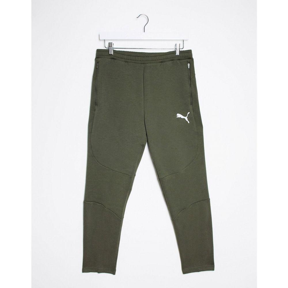プーマ Puma メンズ ボトムス・パンツ 【Puam Evostripe Trousers In Forest Night】Green