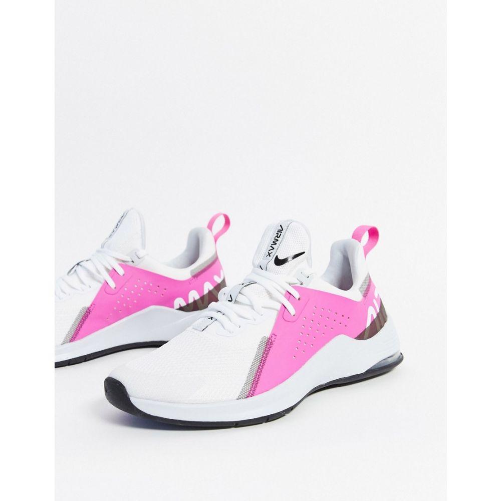 ナイキ Nike Training レディース スニーカー シューズ・靴【Air Max Bella Trainers In White】White