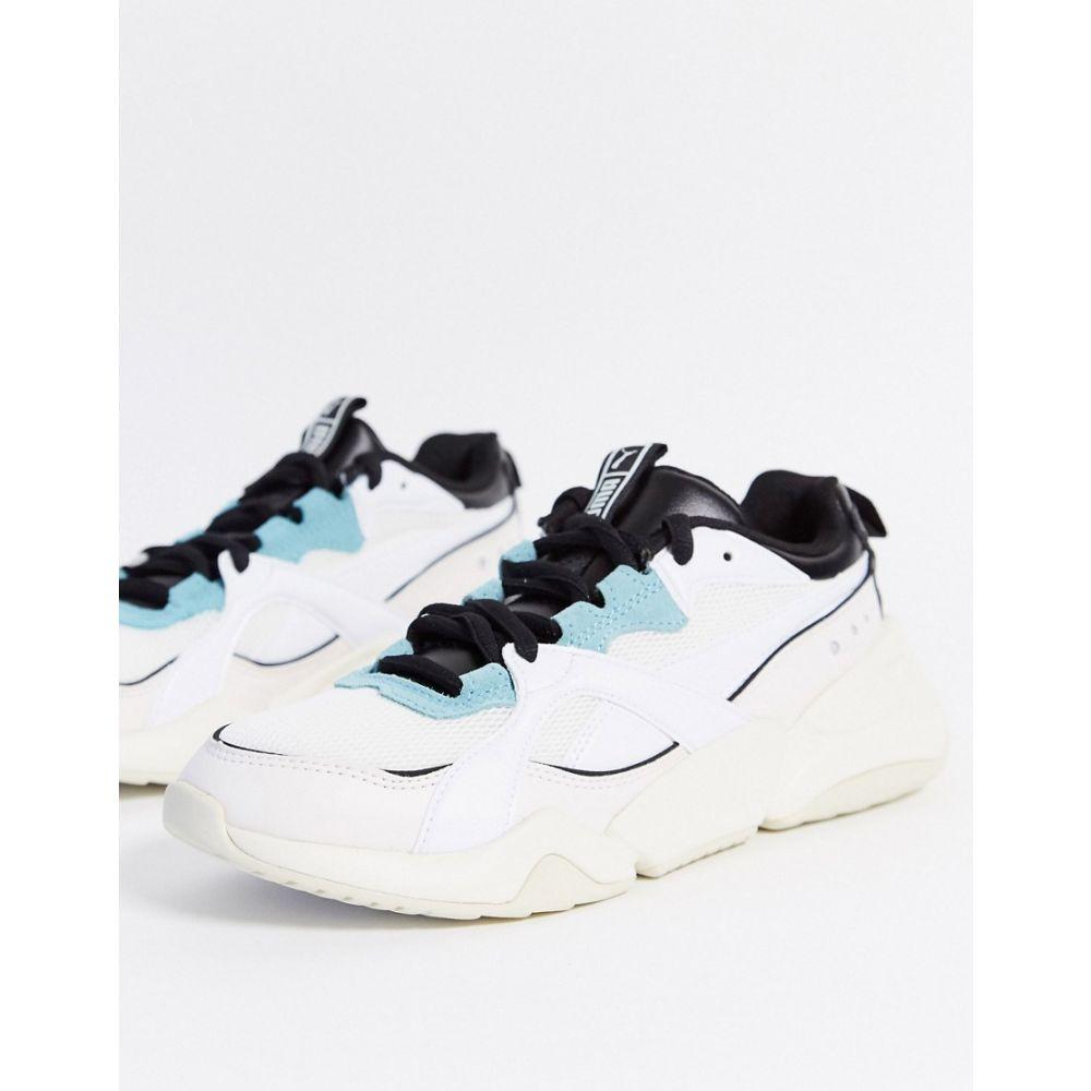 プーマ Puma レディース スニーカー シューズ・靴【Nova Mesh Trainers In White & Pastel】White/pastel
