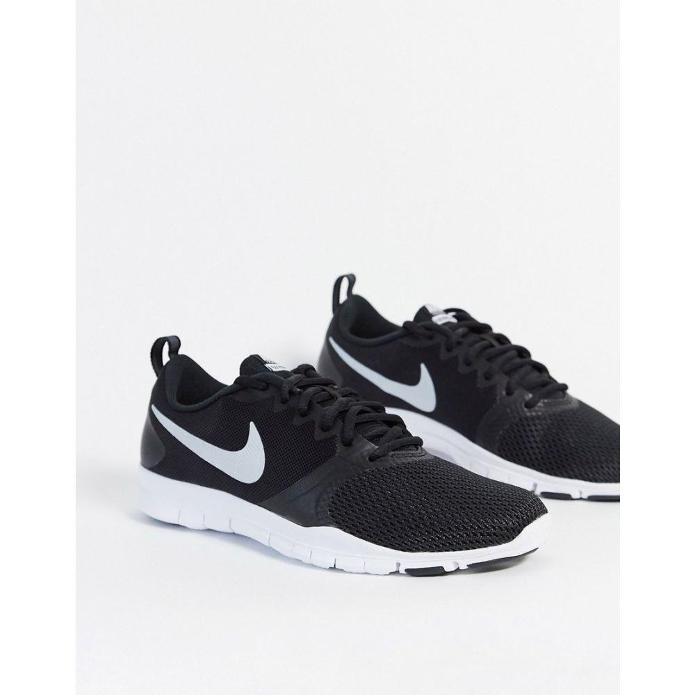 ナイキ Nike Training レディース スニーカー シューズ・靴【Flex Essential Trainers In Black】Black