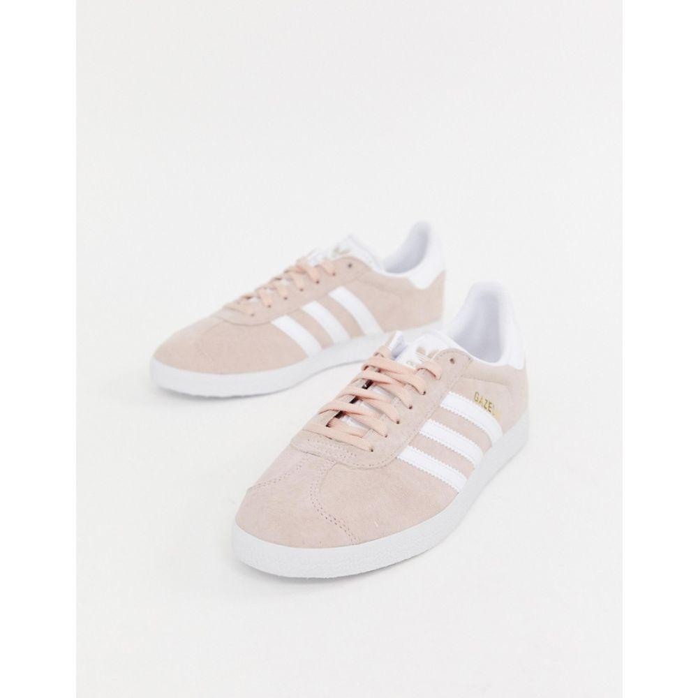 アディダス adidas Originals レディース スニーカー シューズ・靴【Adidas Originals Gazelle Trainers In Pink And White】Vapour pink