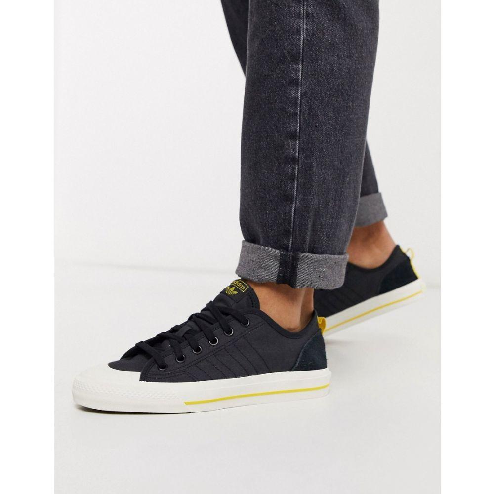 アディダス adidas Originals メンズ スニーカー シューズ・靴【Adidas Originals Nizza Low Trainers In Black】Bk - black