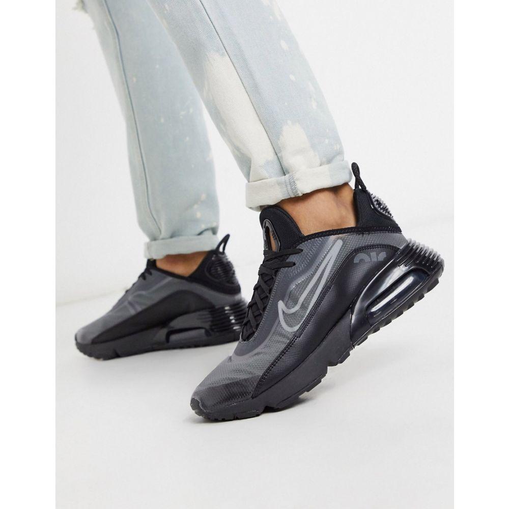 ナイキ Nike メンズ スニーカー シューズ・靴【Air Max 2090 Trainers In Black】Black