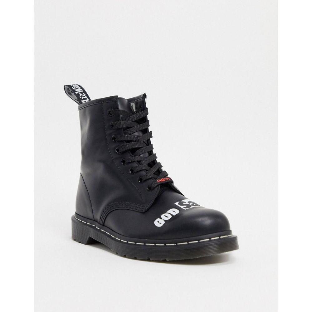 ドクターマーチン Dr Martens メンズ ブーツ シューズ・靴【X Sex Pistols 1460 8 Eye Boots In Black】Black