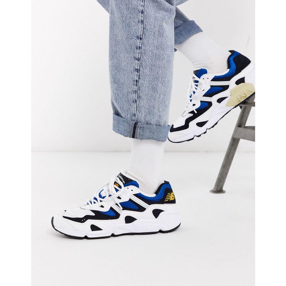 ニューバランス New Balance メンズ スニーカー シューズ・靴【850 V2 In White And Blue】White