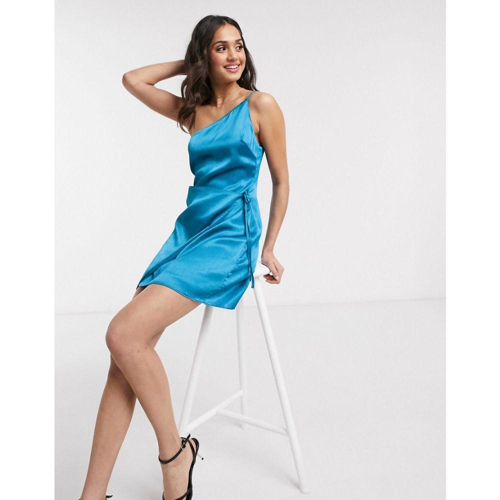 イーストオーダー The East Order レディース ワンピース ワンピース・ドレス【Callie one shoulder satin mini dress】Mirage