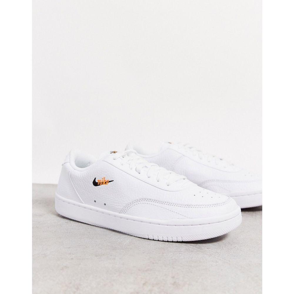 ナイキ Nike レディース スニーカー シューズ・靴【Court Vintage trainers in white】White
