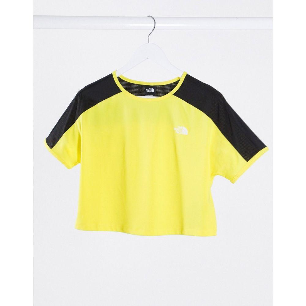 ザ ノースフェイス The North Face レディース Tシャツ トップス【Active Trail t-shirt in yellow】Tnf lemon