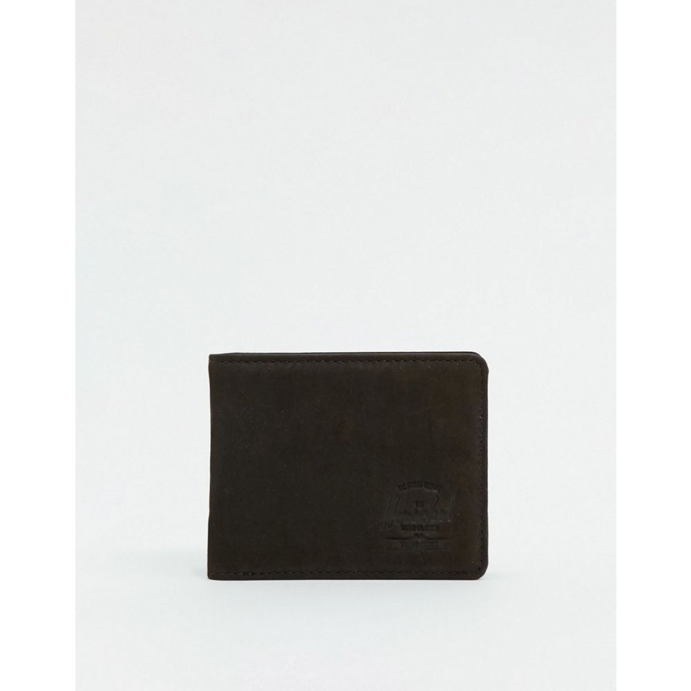 ハーシェル サプライ Herschel Supply Co メンズ 財布 二つ折り【Hank+ RFID leather billfold wallet in brown】Brown