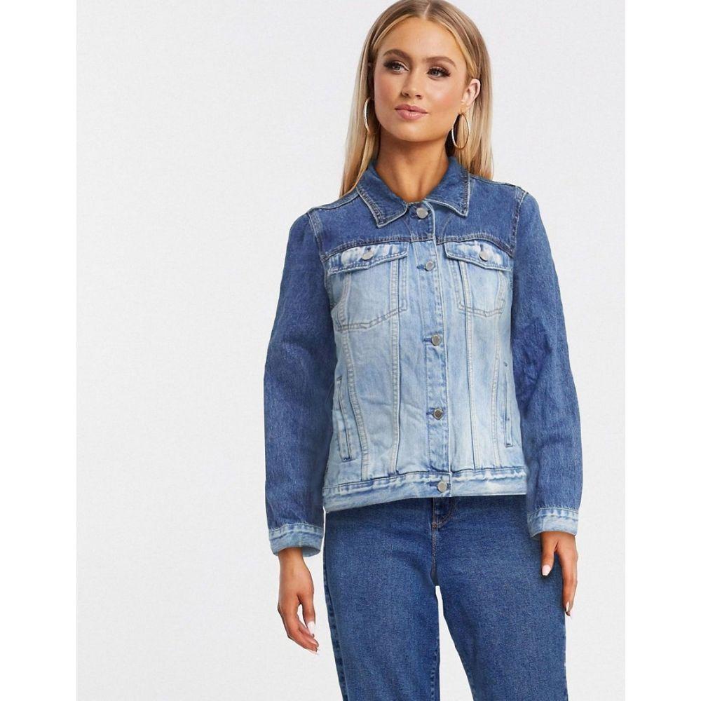 ブランクニューヨーク BLANK NYC レディース ジャケット Gジャン アウター【Blank NYC sequin denim jacket in blue】Chaser