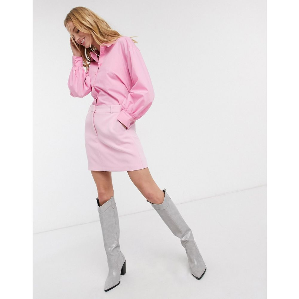 トップショップ Topshop レディース スカート 【tailored skirt in blush pink】Pink