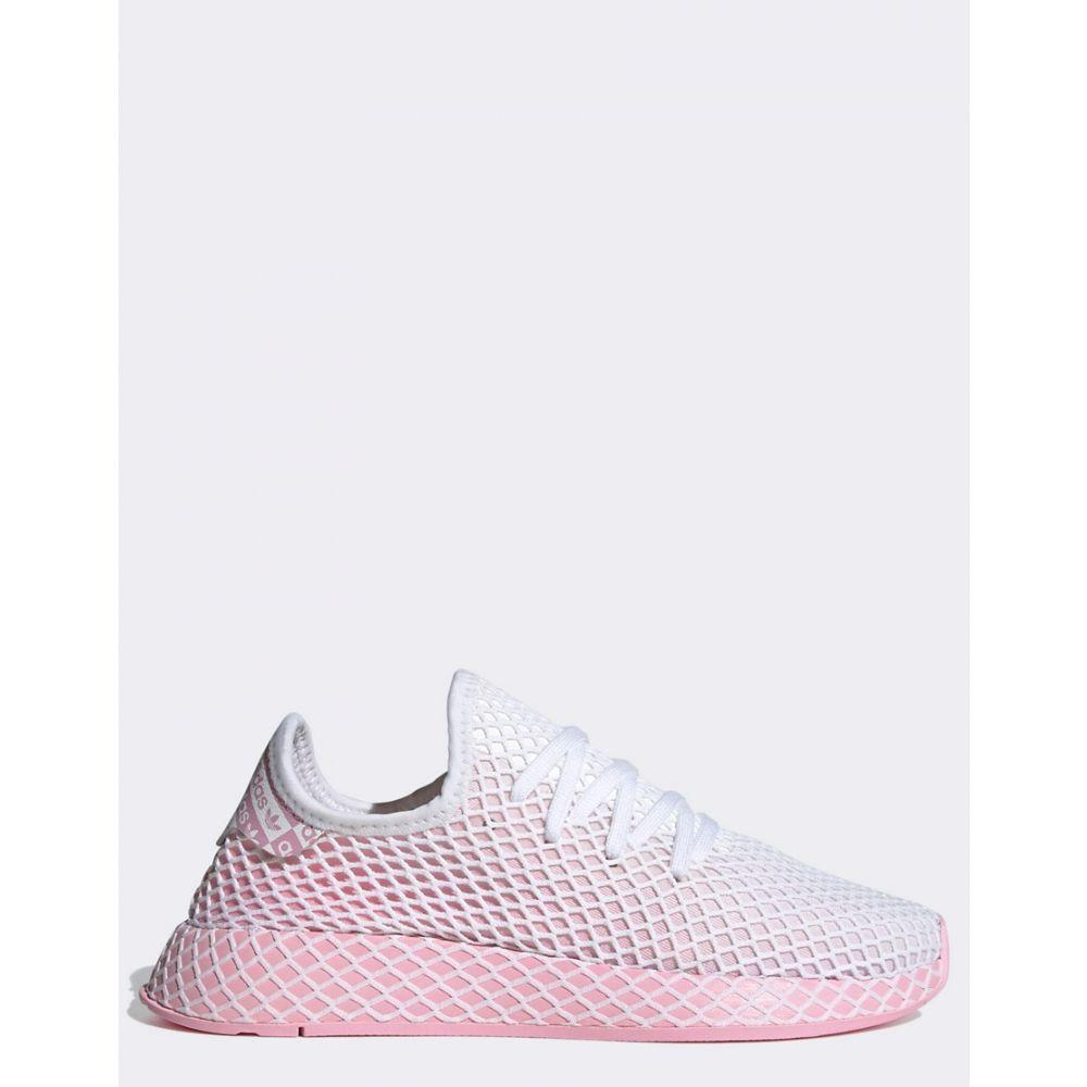 アディダス adidas Originals レディース ランニング・ウォーキング シューズ・靴【Deerupt Runner in pink】Pink/white