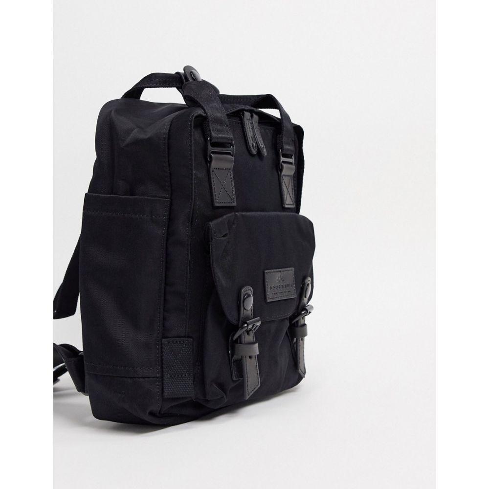 ドーナツ Doughnut レディース バックパック・リュック バッグ【Macaroon Mini backpack in black】Black