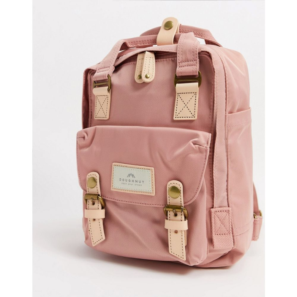 ドーナツ Doughnut レディース バックパック・リュック バッグ【Macaroon Mini backpack in rose】Rose