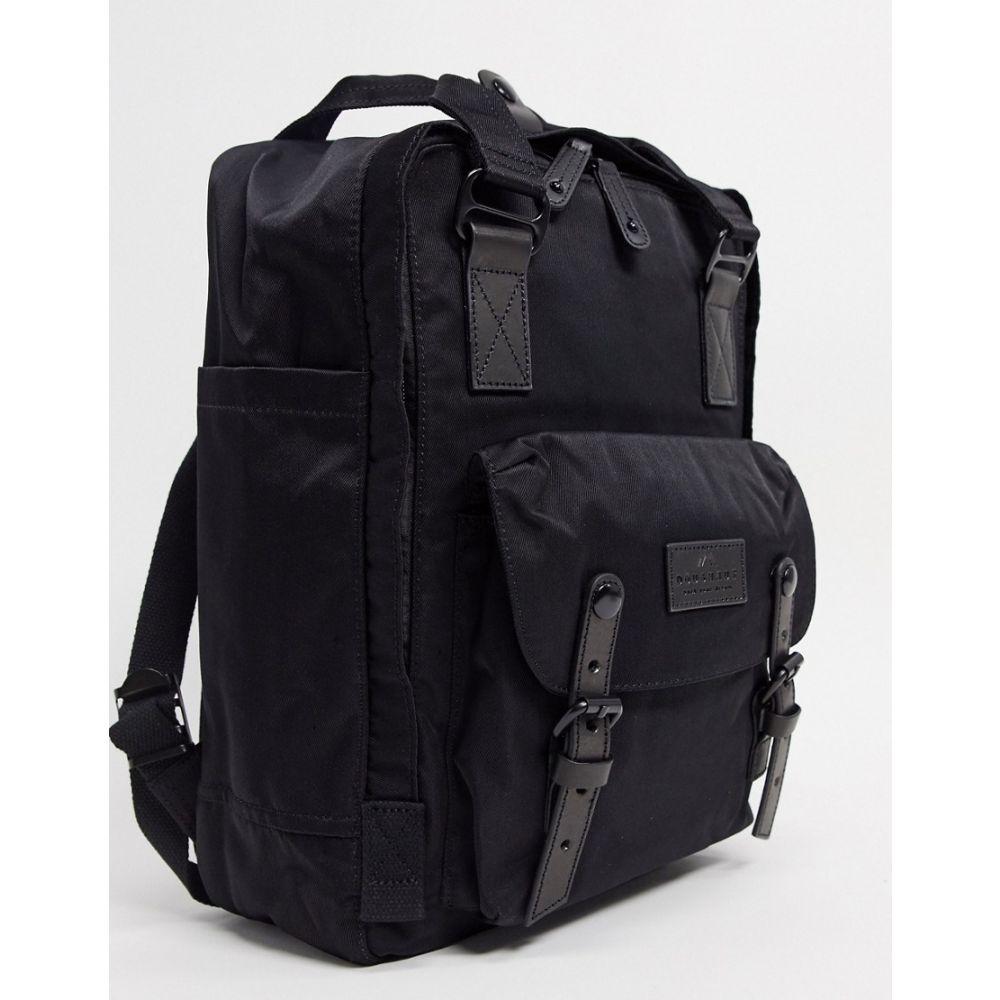 ドーナツ Doughnut レディース バックパック・リュック バッグ【Macaroon backpack in black】Black