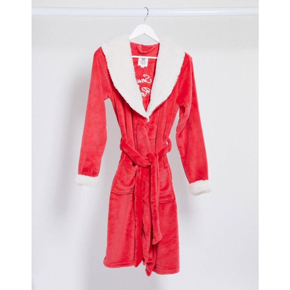 チェルシーペアーズ Chelsea Peers レディース ガウン・バスローブ インナー・下着【dressing gown in red and white】Multi