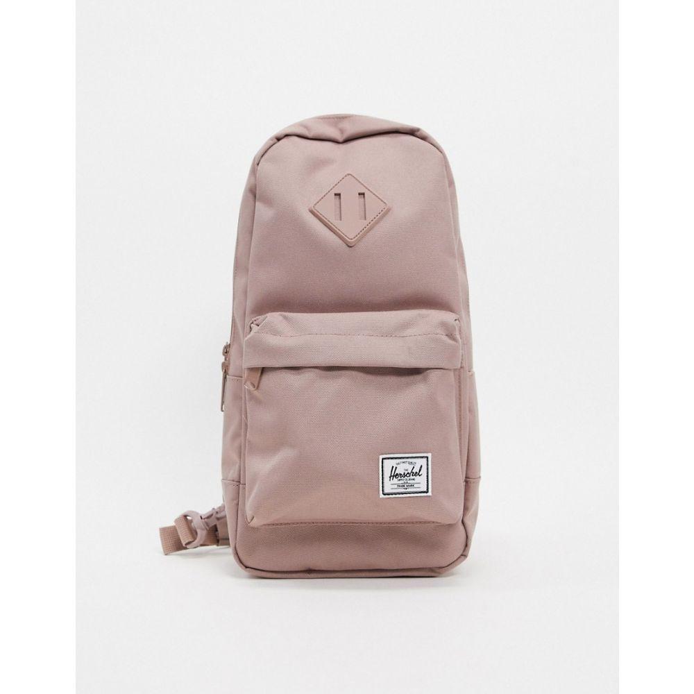 ハーシェル サプライ Herschel Supply Co レディース バックパック・リュック バッグ【Herschel Heritage single strap backpack in ash rose】ash rose