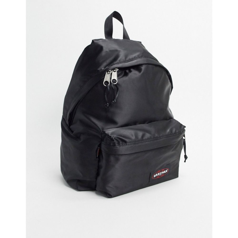 イーストパック Eastpak レディース バックパック・リュック バッグ【padded backpack in satin black】Satin black