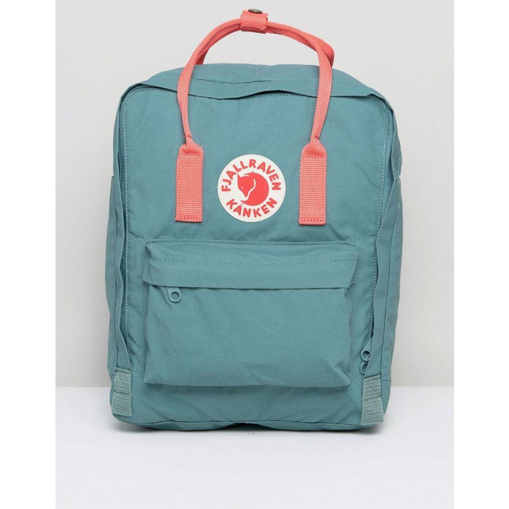 フェールラーベン Fjallraven レディース バックパック・リュック カンケン バッグ【Classic Kanken Backpack in Green with Contrast Pink】Green/pink