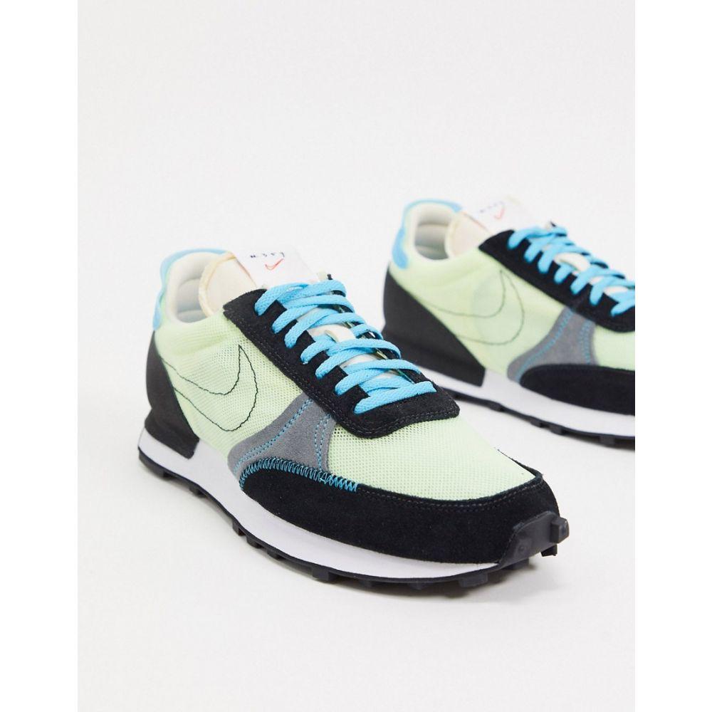 ナイキ Nike メンズ スニーカー シューズ・靴【Dbreak-Type trainers in barely volt/black】Barely volt/black