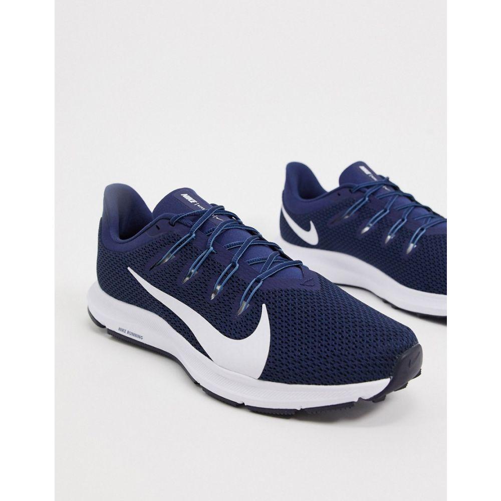 ナイキ Nike Running メンズ ランニング・ウォーキング シューズ・靴【Quest 2 in navy】Navy