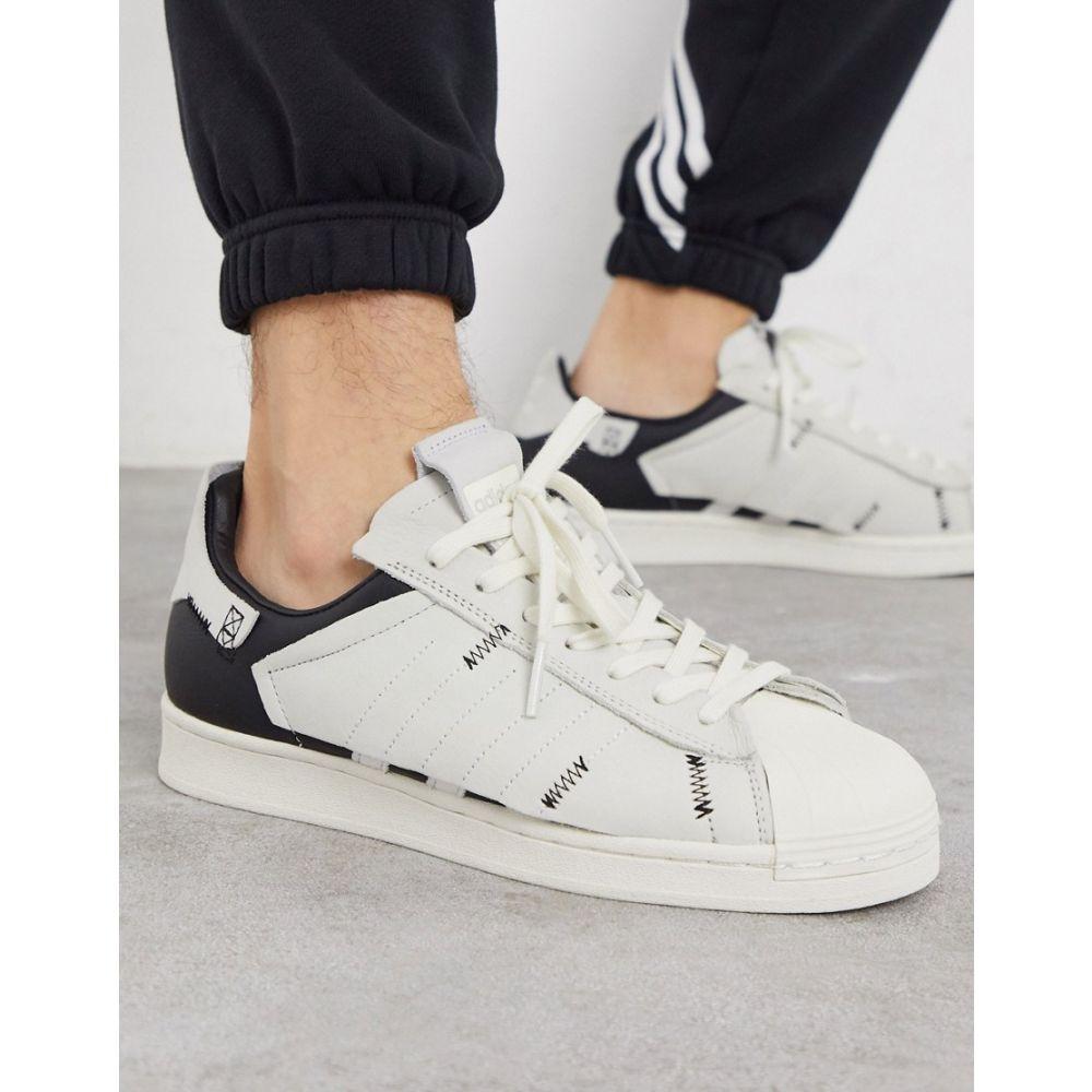 アディダス adidas Originals メンズ スニーカー シューズ・靴【superstar WS1 workshop trainers in white】Wh - white