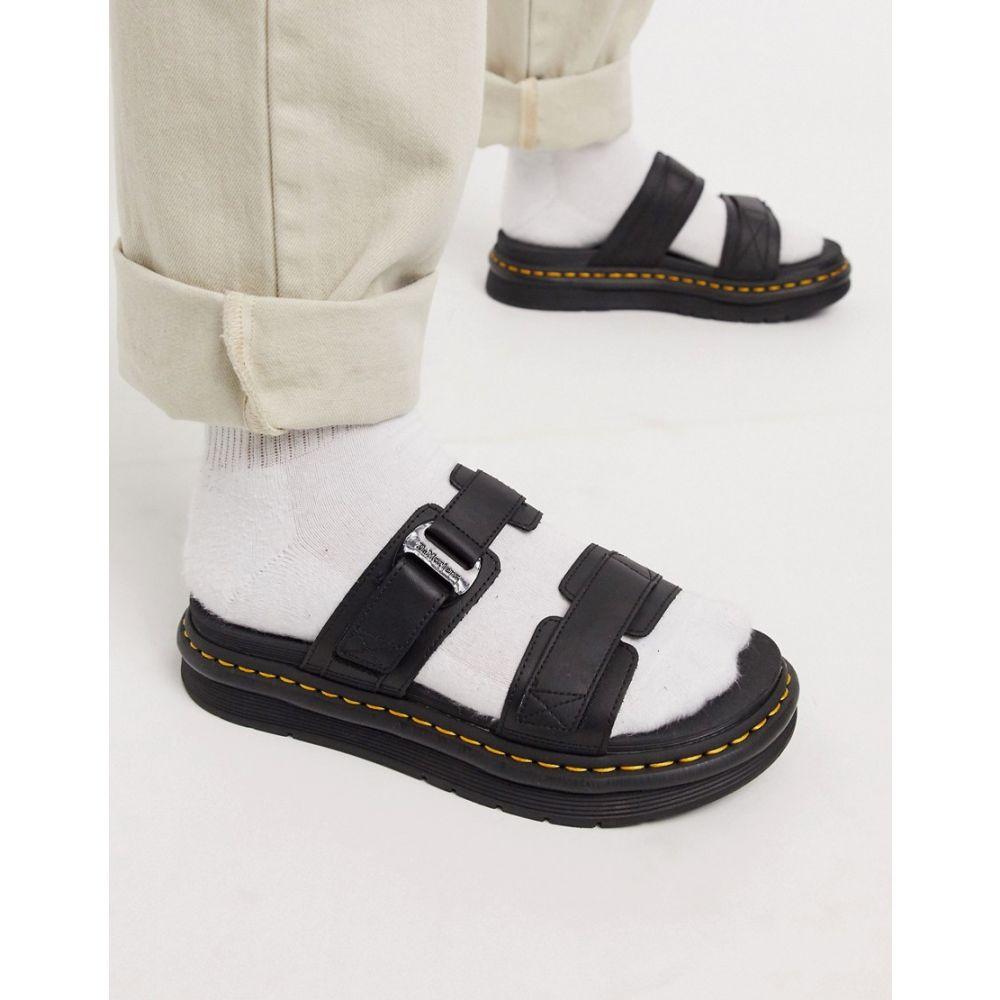 ドクターマーチン Dr Martens メンズ サンダル シューズ・靴【chiltern strap sandals in black leather】Black