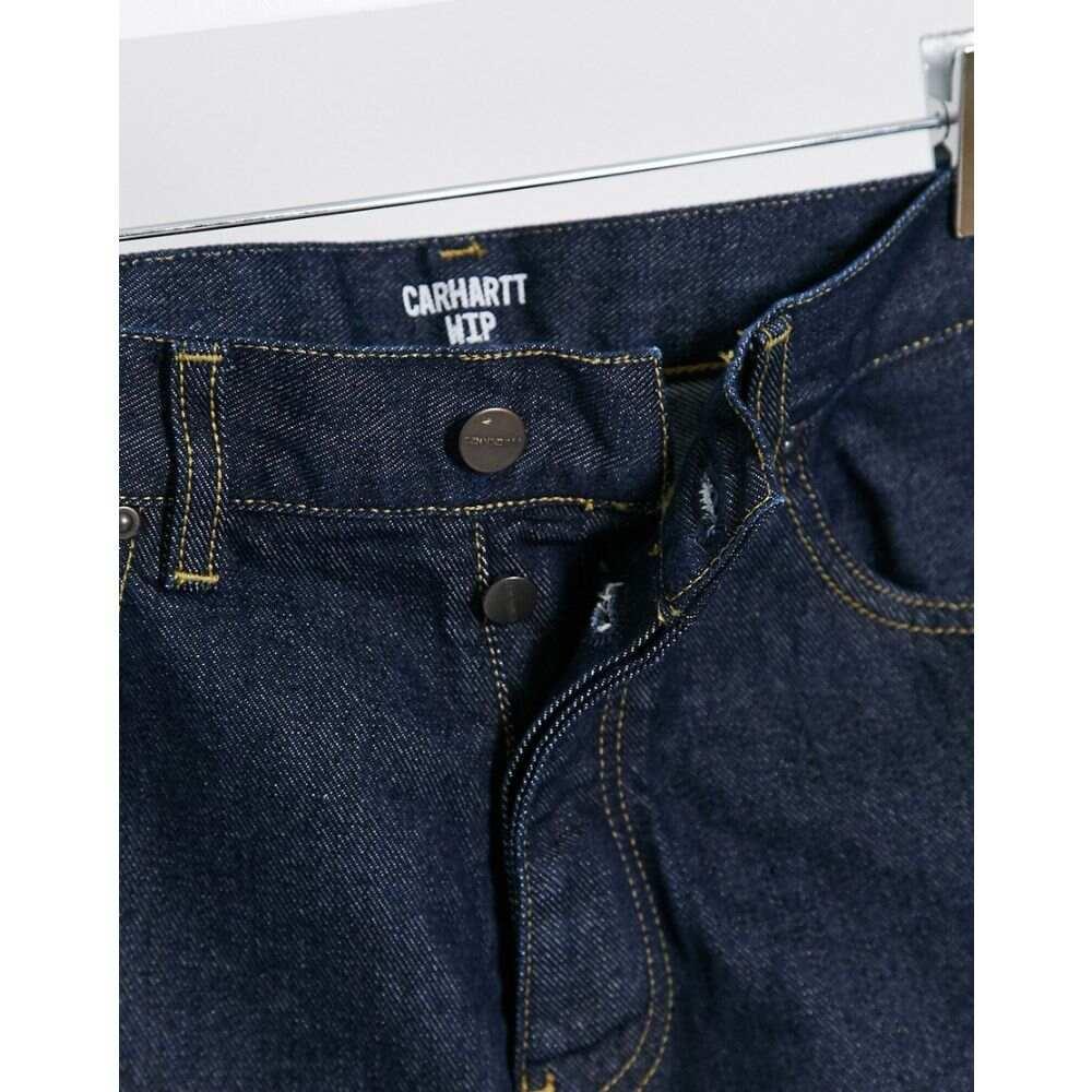 カーハート Carhartt WIP メンズ ショートパンツ デニム ボトムス・パンツ Newel denim short in blue Blue rinseSUMVpz