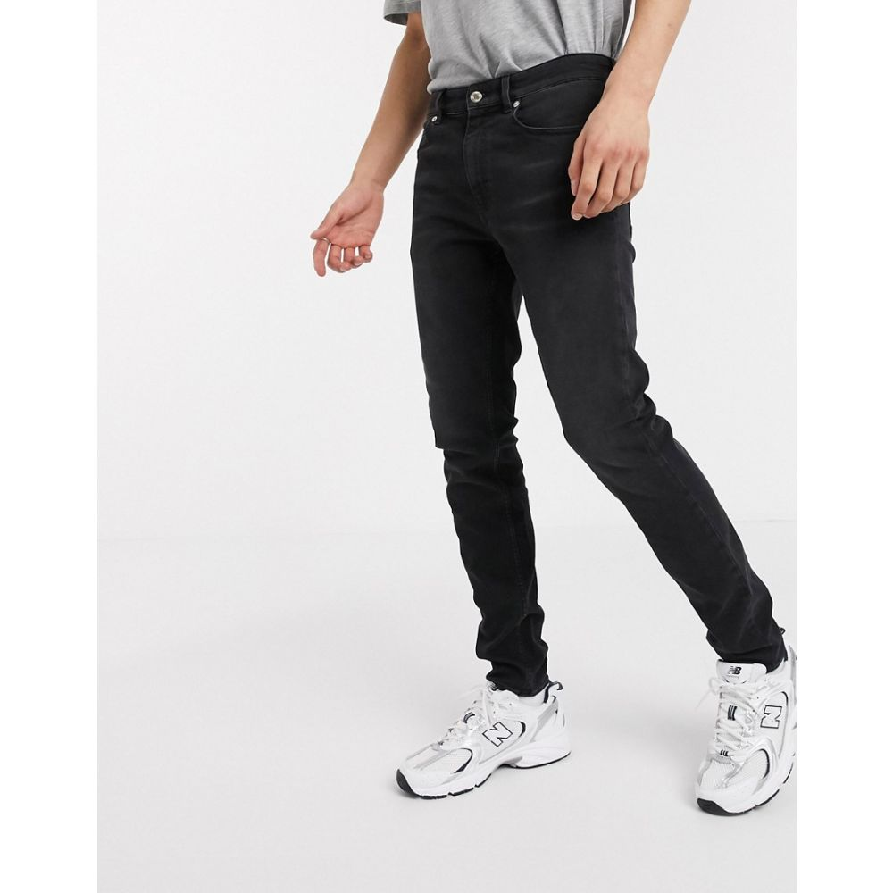 モスキーノ Love Moschino メンズ ジーンズ・デニム ボトムス・パンツ【skinny jeans】Black