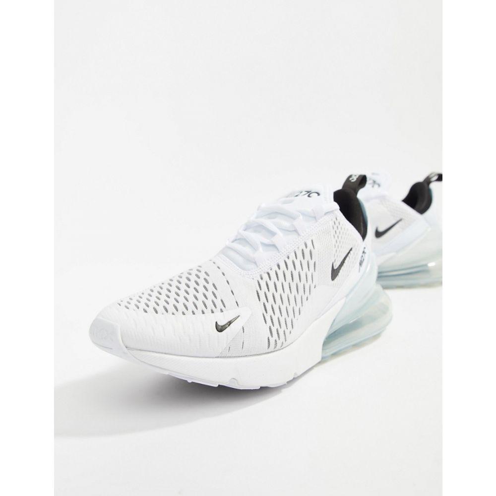 ナイキ Nike メンズ スニーカー エアマックス 270 シューズ・靴【Air Max 270 Trainers In White AH8050-100】White