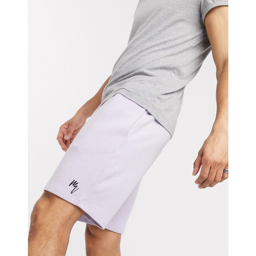 リバーアイランド River Island メンズ ショートパンツ ボトムス・パンツ【jersey shorts in lilac】Lilac