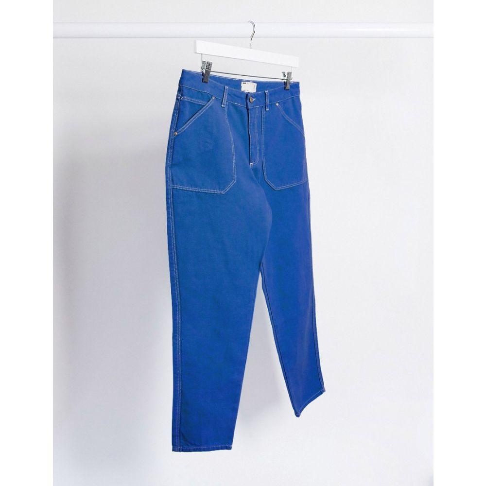 エイソス ASOS DESIGN メンズ ジーンズ・デニム ボトムス・パンツ【classic rigid worker jean in cobalt blue】Blue