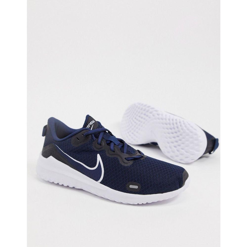 ナイキ メンズ シューズ 靴 スニーカー Navy サイズ交換無料 Running 大放出セール Renew in 百貨店 navy Nike Ride trainers