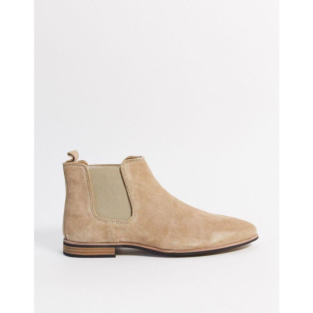 トップマン Topman メンズ ブーツ チェルシーブーツ シューズ・靴【chelsea boots in stone】Stone